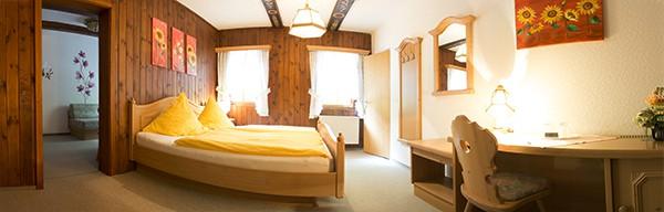 In so einem Zimmer können Sie bei uns übernachten